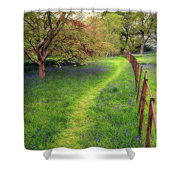 Woodland Walk Shower Curtain