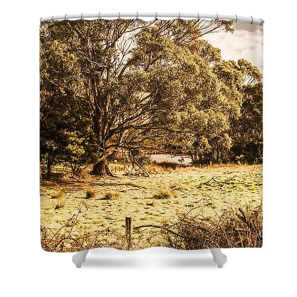 Woodstock Tasmania Shower Curtain