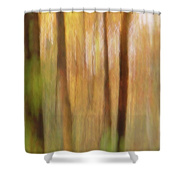Woodsy Shower Curtain