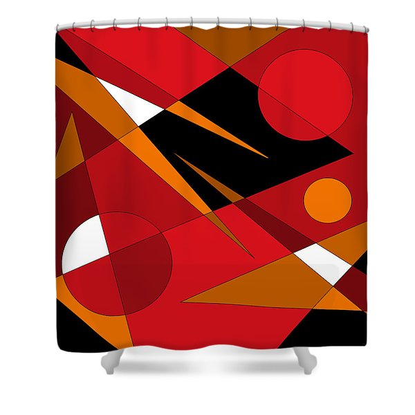 Woodwind Shower Curtain