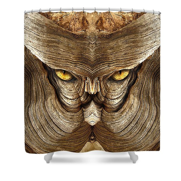 Woody 88a Shower Curtain