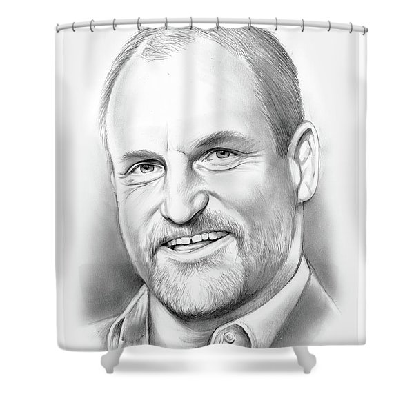Woody Harrelson Shower Curtain
