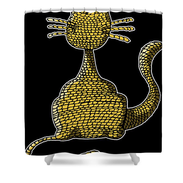 Woolcat Shower Curtain