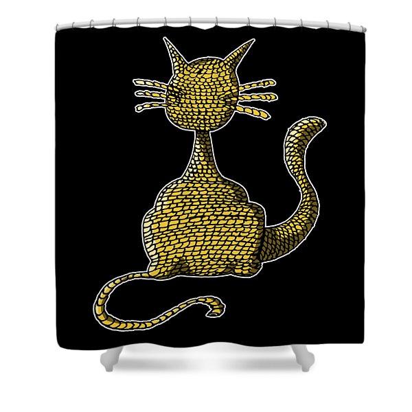 Woolcat Shower Curtain