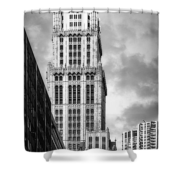 Shower Curtain featuring the photograph Woolworth Building by Juergen Held