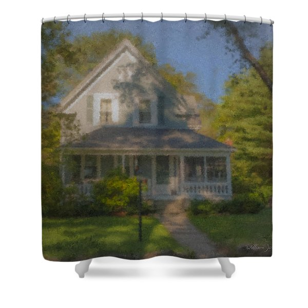 Wooster Family Home Shower Curtain
