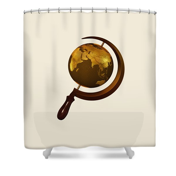 Workers Of The Globe Shower Curtain