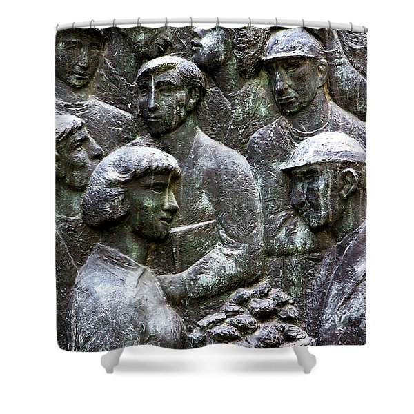 Workers Of The World Shower Curtain