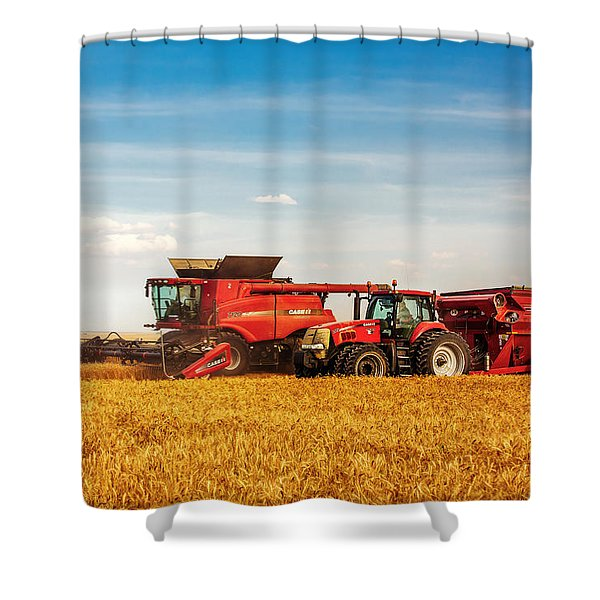 Working Side-by-side Shower Curtain