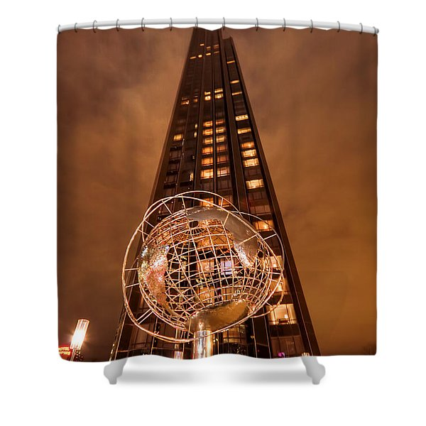 World For Rent Shower Curtain