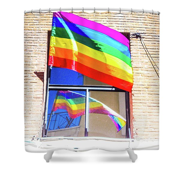 World Gay Pride  Shower Curtain