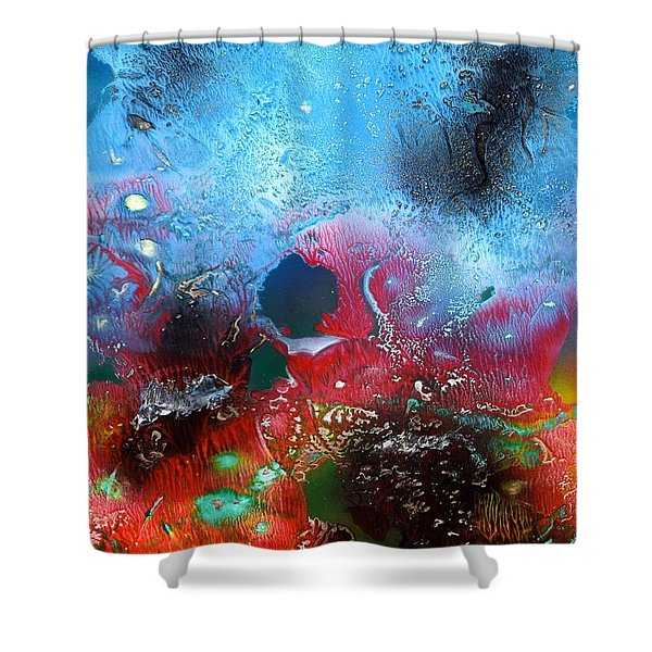 World Of Reefs Shower Curtain