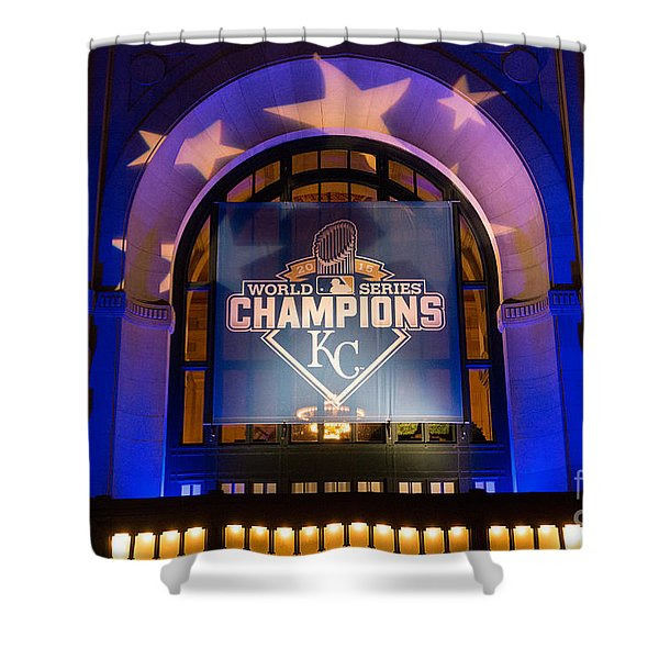 World Series Champs Shower Curtain