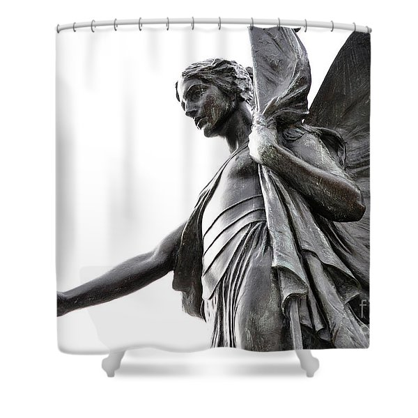 World War I Memorial - Fitchburg, Ma Shower Curtain