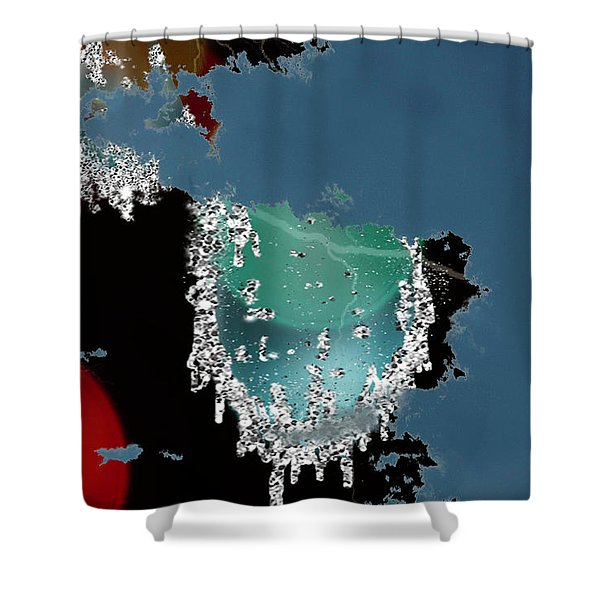 World Where Are You Shower Curtain