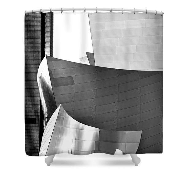 Worlds Apart Shower Curtain