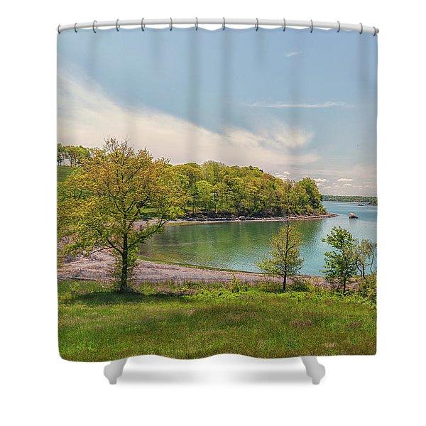 Worlds End Hingham Massachusetts Shower Curtain