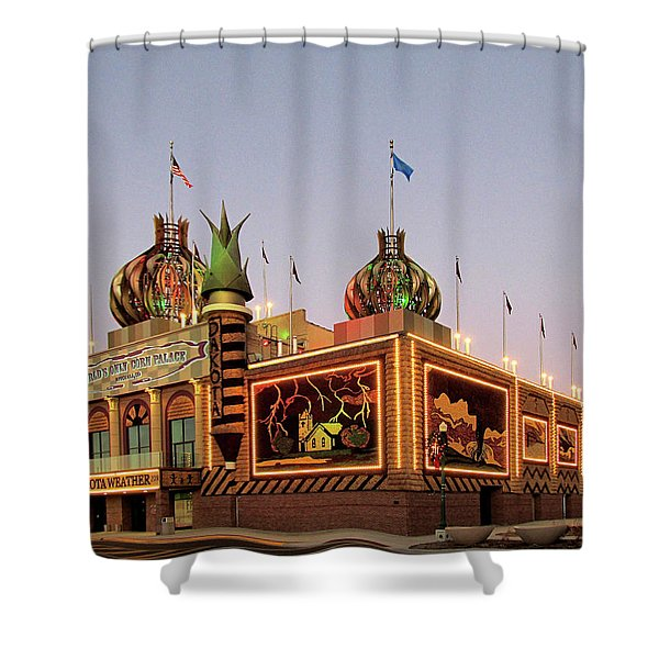World's Only Corn Palace 2017-18 Shower Curtain