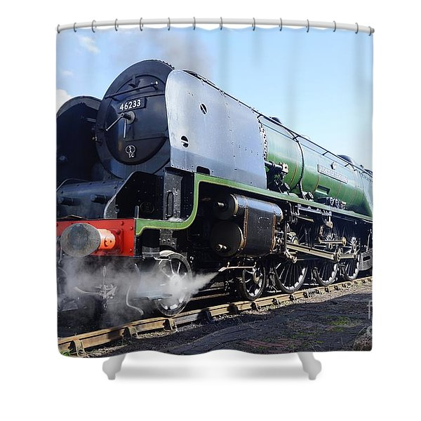 Worm's Eye View Shower Curtain