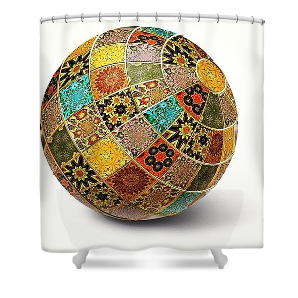 Wouldnt That Be Pretty Shower Curtain