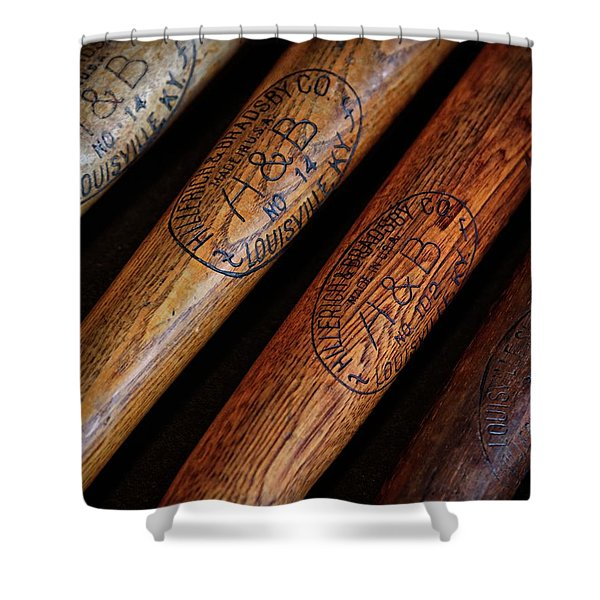 Wwii Lineup Shower Curtain