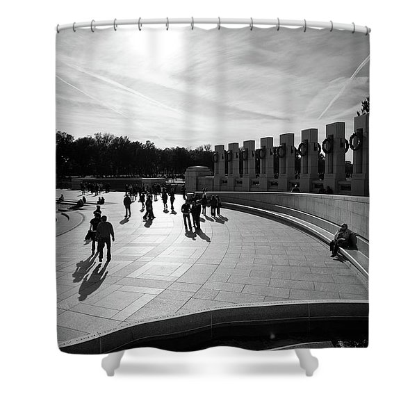 Wwii Memorial Shower Curtain
