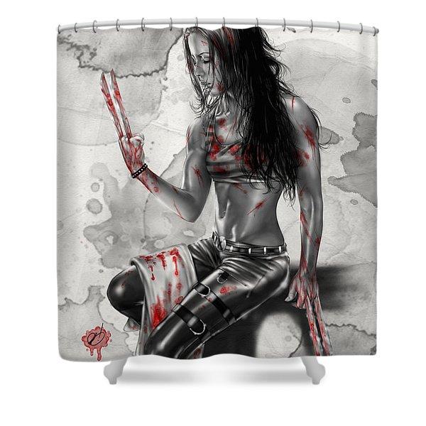 X23 Shower Curtain