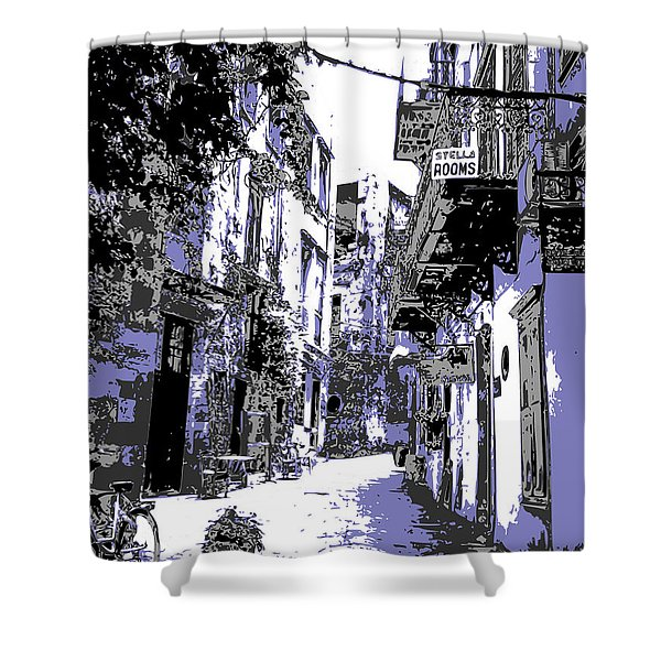Xania Street Shower Curtain