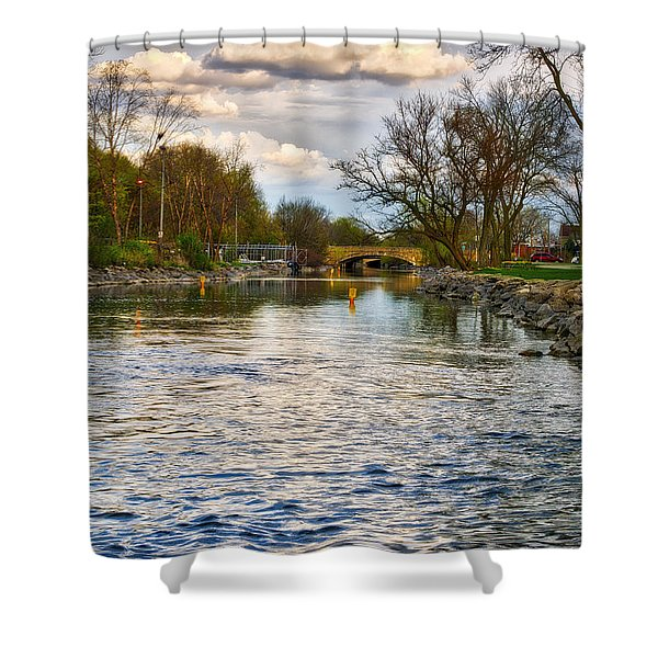 Yahara River, Madison, Wi Shower Curtain