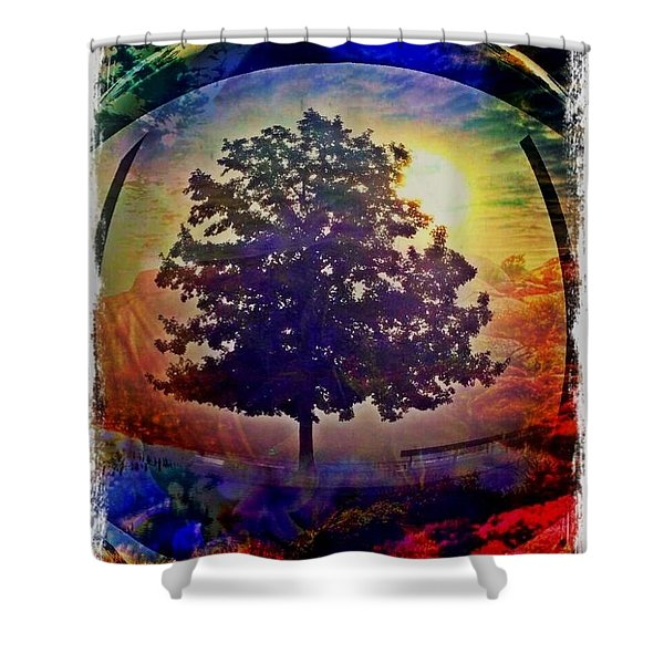 Yakshis Shower Curtain