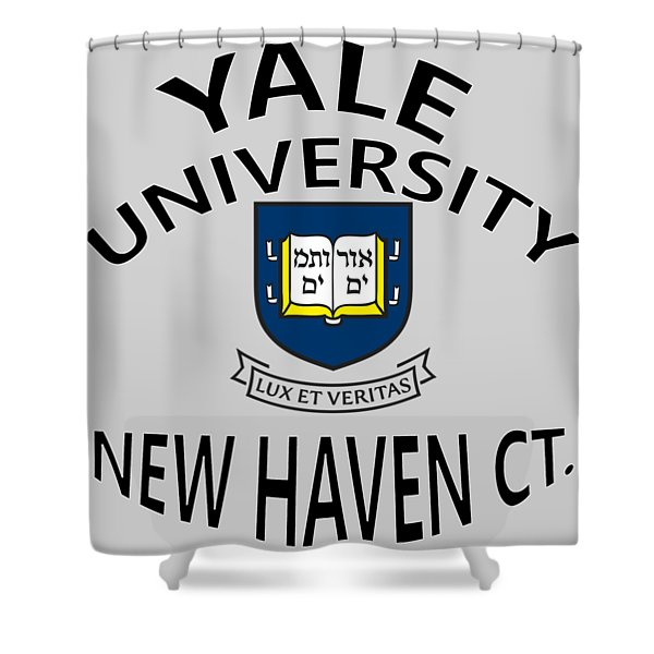 Yale University New Haven Connecticut  Shower Curtain
