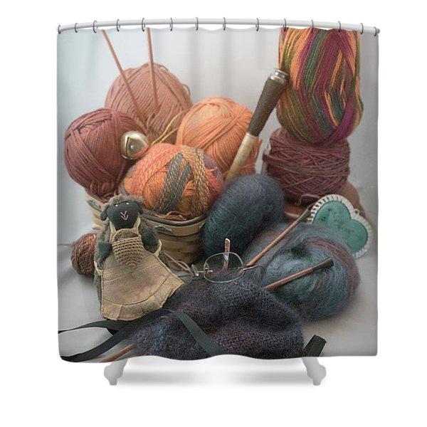 Yarn Shower Curtain