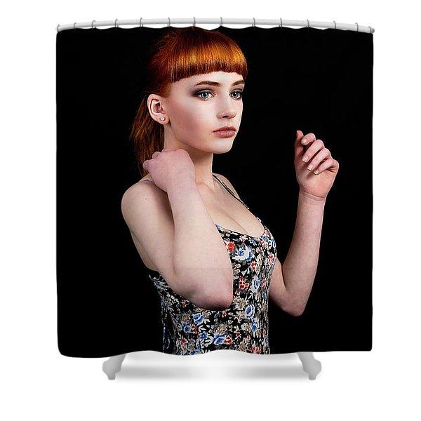 Yasmin Perfection Shower Curtain