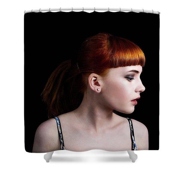 Yasmin Studio Right Shower Curtain