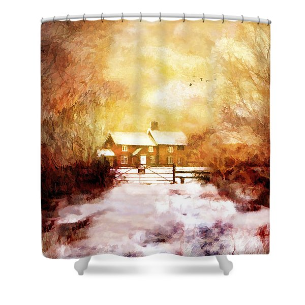Ye Olde Inn Shower Curtain