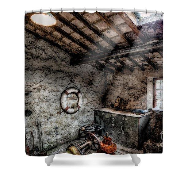 Ye Olde Workshop Shower Curtain