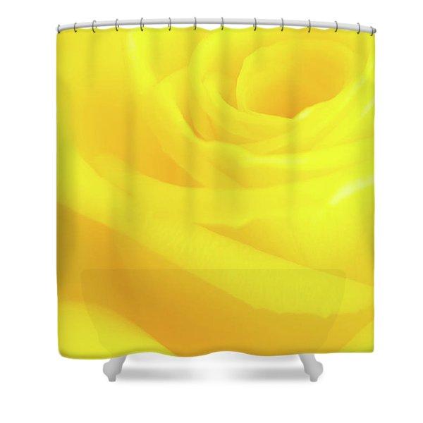 Yello Rose Shower Curtain