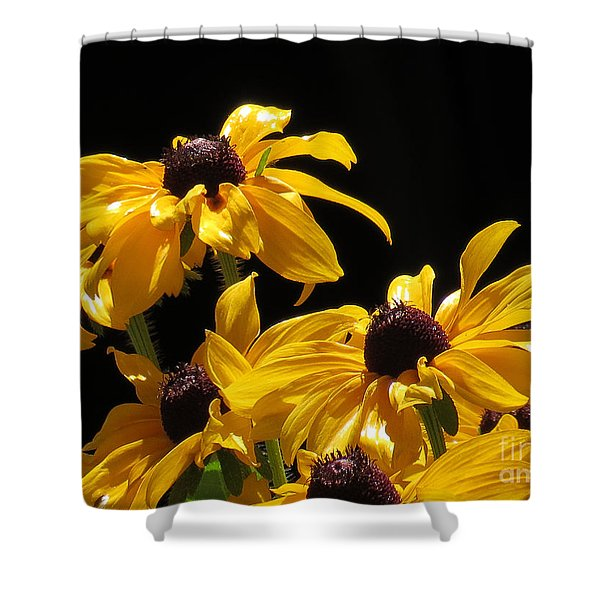 Yellow Flower 2 Shower Curtain