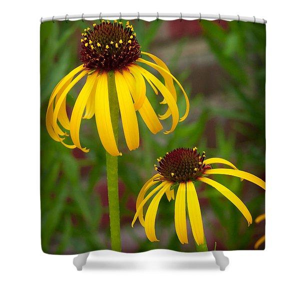 Yellow Pair Shower Curtain