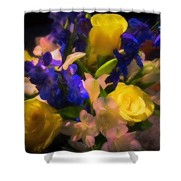 Yellow Rose Of Texas Shower Curtain