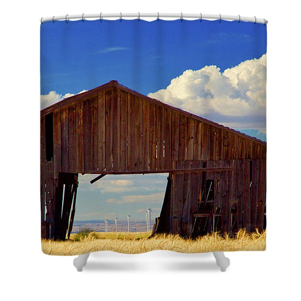 Yesterday And Today Shower Curtain