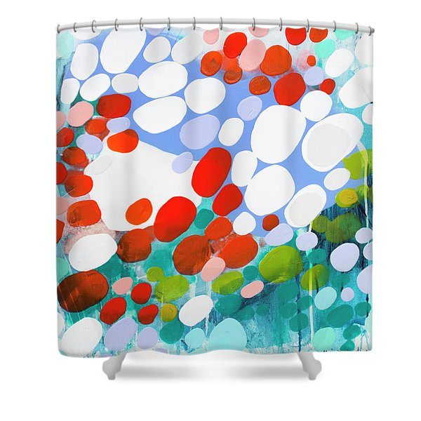 Yesterday's Truth Shower Curtain