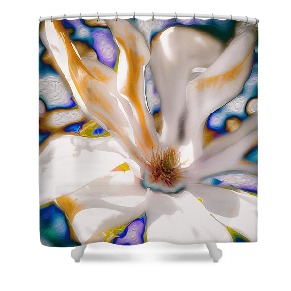 Yet Another Magnolia Shower Curtain