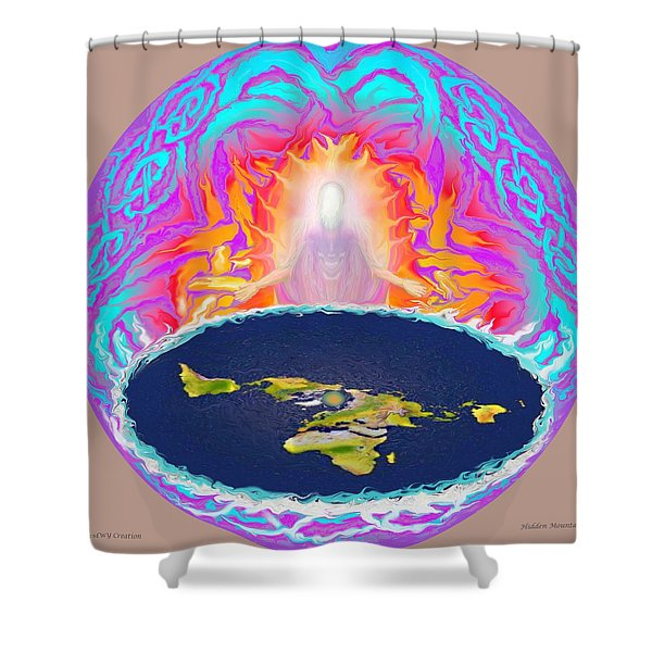 Yhwh Creation Shower Curtain