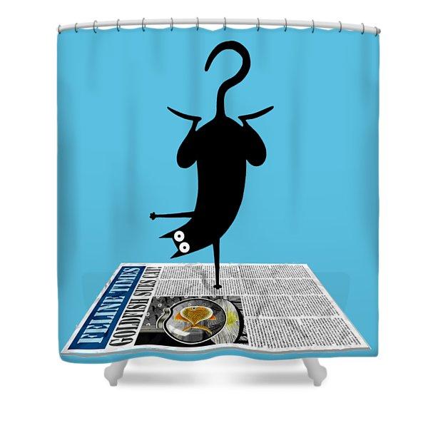 Yoga Mat Shower Curtain