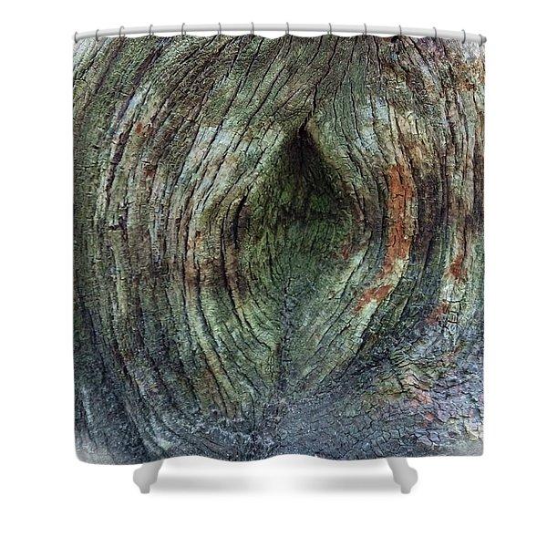 Yoni Au Naturel Une Shower Curtain