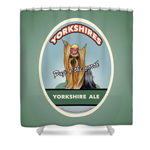 Yorkshire Ale Shower Curtain