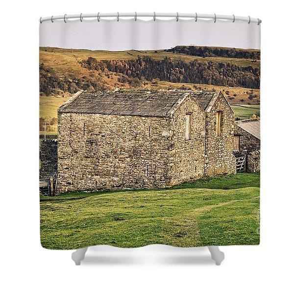 Yorkshire Stone Barns Shower Curtain