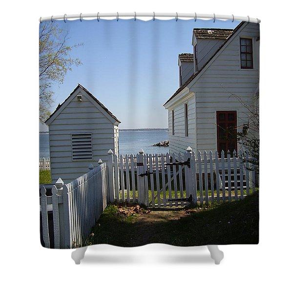 Yorktown Shower Curtain