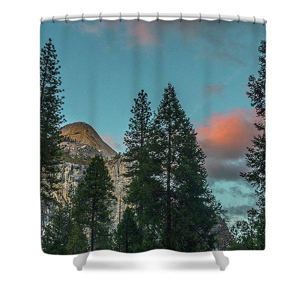 Yosemite Campside Evening Shower Curtain